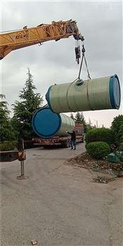 一体化污水提升泵站预制装置的筒身直径