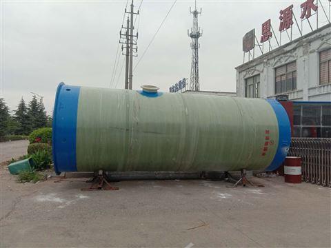 污水式一體化預制泵站以定制形態展現