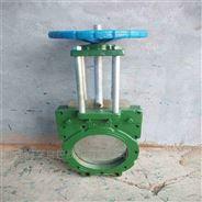 温州供应 Z73X-10 铸铁对夹式浆液阀