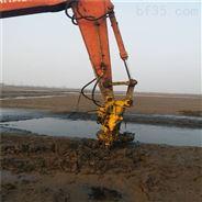 8寸液压抽沙泵-挖机带抽砂泵-送抽沙管道