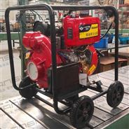 電打火柴油機4寸高壓水泵
