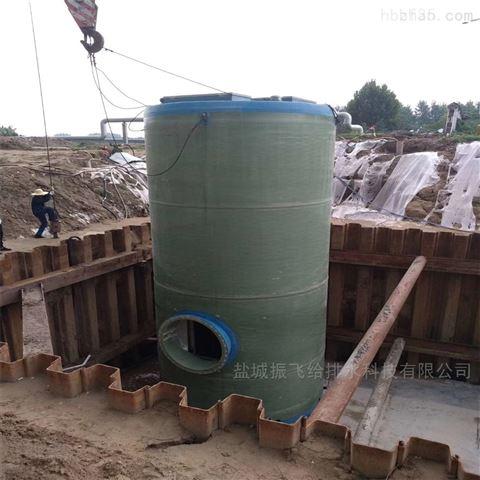 水處理設備650立方一體化提升泵站