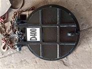 管道铸铁拍门DN400配6公斤法兰眼距现货批发