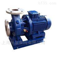 州泉 ISWH40-160防爆化工臥式不銹鋼管道泵